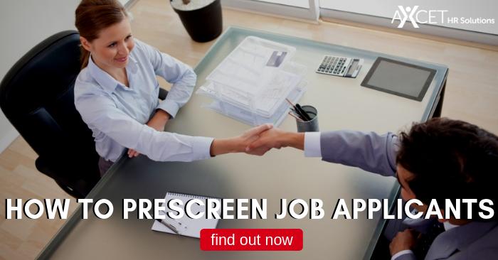 Prescreen Job Applicants