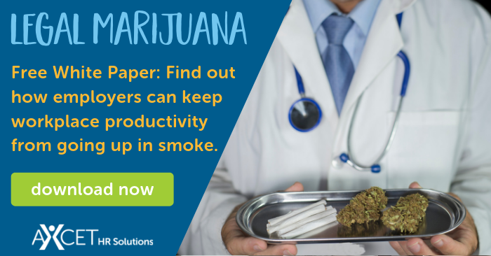 Free white paper available for download discussing legal medical and recreational marijuana in the workplace.