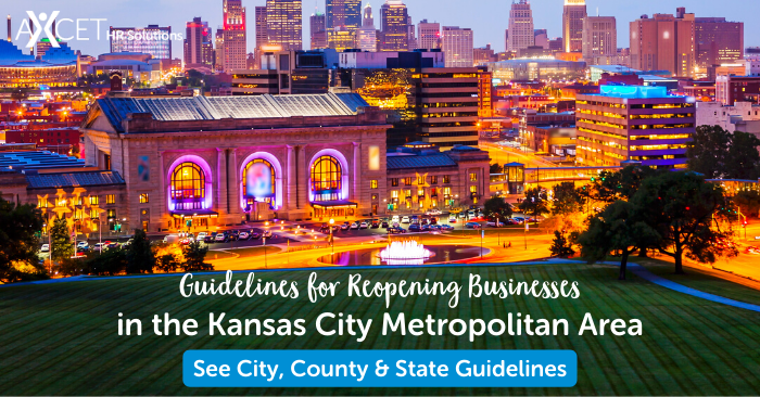 guidelines for reopening businesses in the Kansas City Metropolitan Area