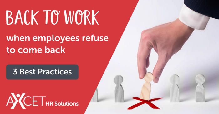 What to Do When Employees Refuse to Return to Work Post-COVID