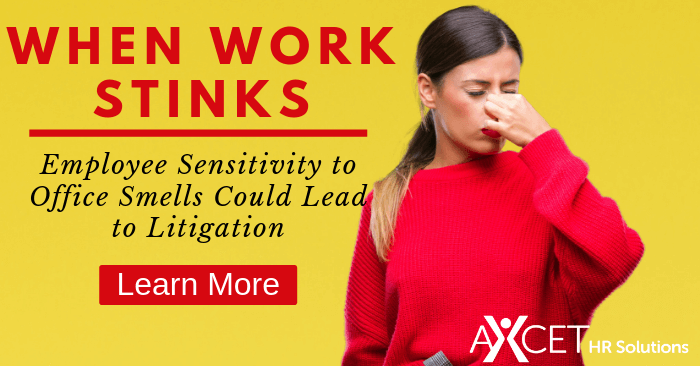 When Work Stinks: Employee Sensitivity to Office Smells Could Lead to Litigation