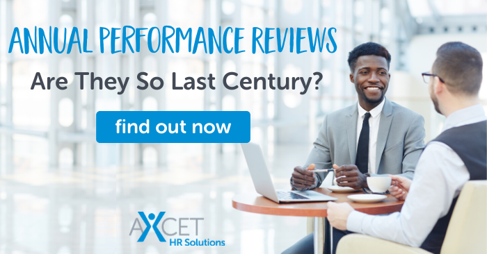 are annual performance reviews really so last century