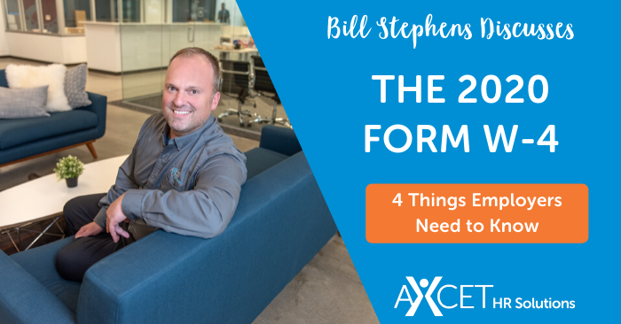 what employers need to know about the 2020 form w4
