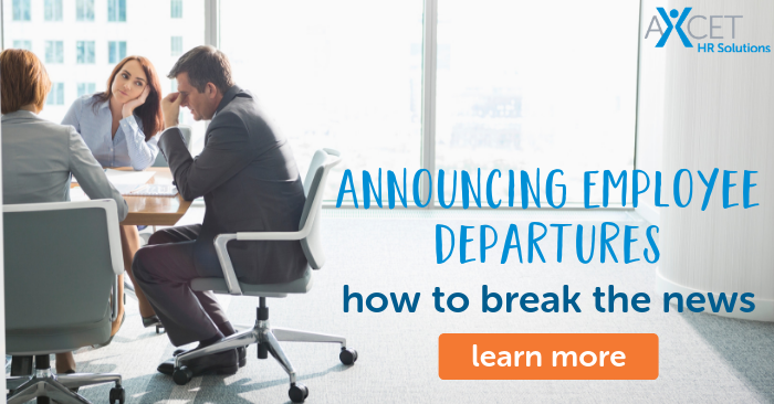 announcing employee departures at your business