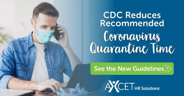 CDC reduces recommended coronavirus quarantine time