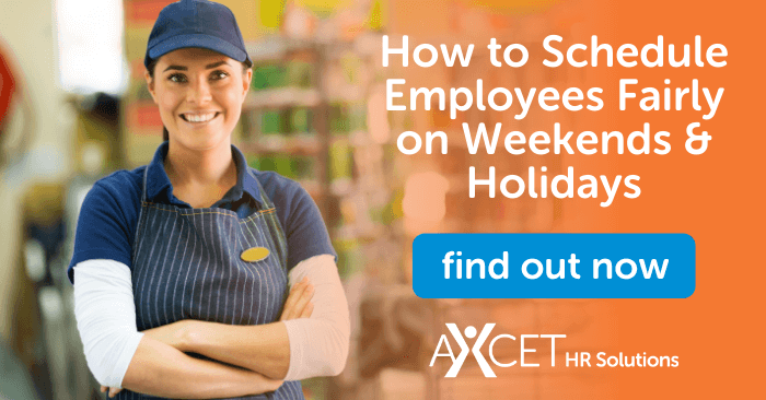how to create fair weekend and holiday schedules