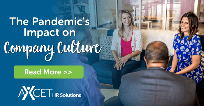 the pandemic's impact on company culture