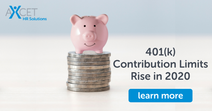 401k contribution limits rise in 2020