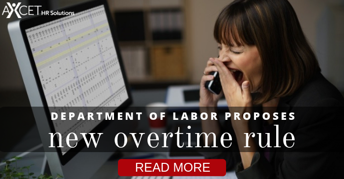 DOL to Announce Overtime Rule Changes This Year