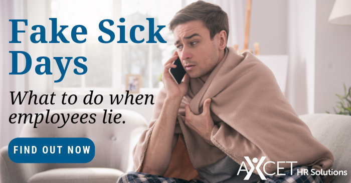 How to handle employee fake sick days