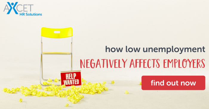 how low unemployment negatively affects employers