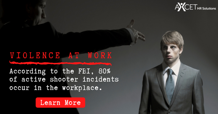 Workplace Violence: Most Active Shooter Incidents Occur at Work