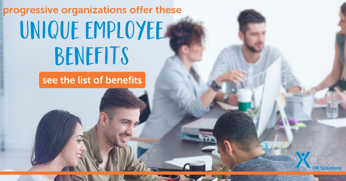 Unique employee benefits offered by progressive organizations in 2019