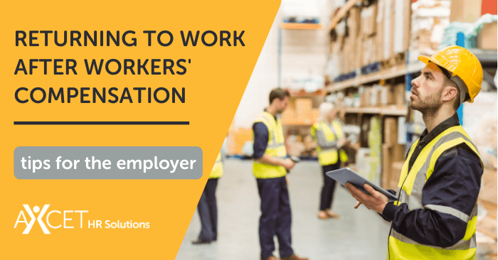 returning to work after workers compensation