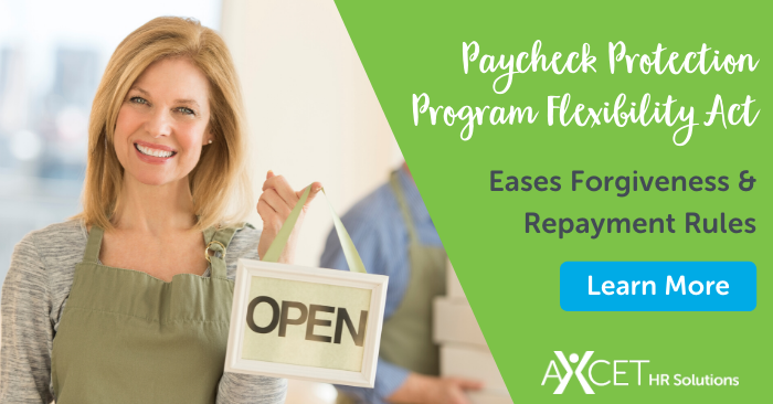 paycheck protection program flexibility act eases forgiveness and repayment options