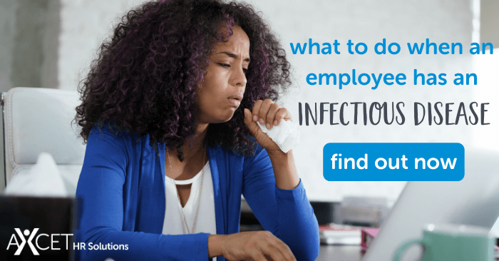 what to do when an employee has an infectious disease