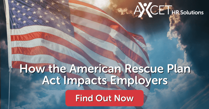 how the American Rescue Plan Act impacts employers