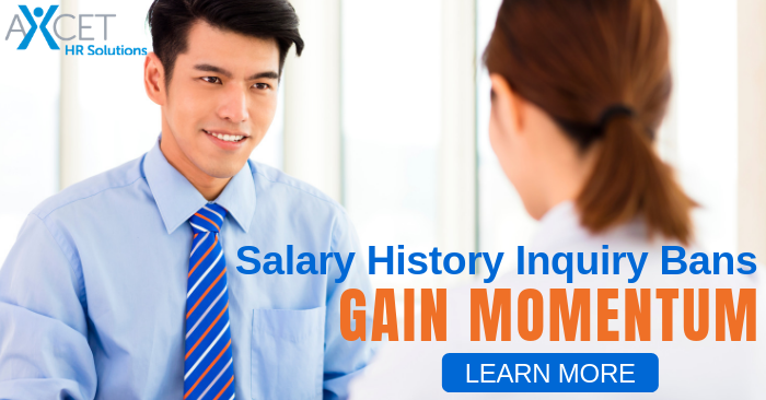 Salary History Inquiry Bans Gain Momentum