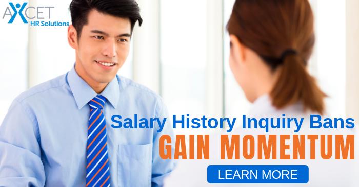 Salary History Inquiry Bans Gain Momentum