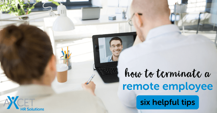how to terminate a remote employee