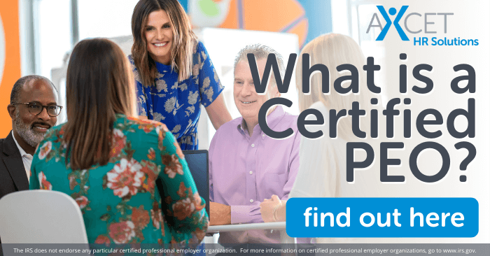 what is a certified peo and what does certification matter