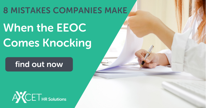 eight mistakes companies make when the EEOC comes knocking
