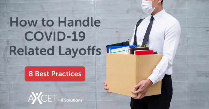 how to handle covid-19 related layoffs