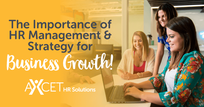 the importance of HR management and strategy for business growth
