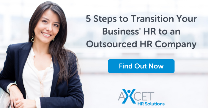 5 steps to transition your business' HR to an Outsourced HR Company