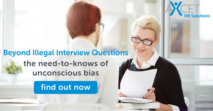 Beyond Illegal Interview Questions the need to know of unconscious bias