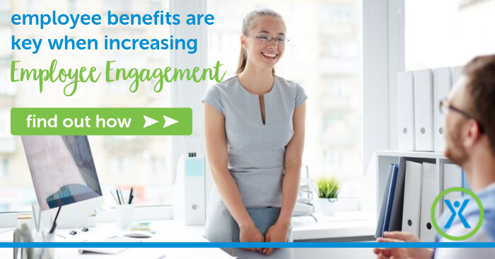 employee benefits are key when looking to increase employee engagement in the workplace