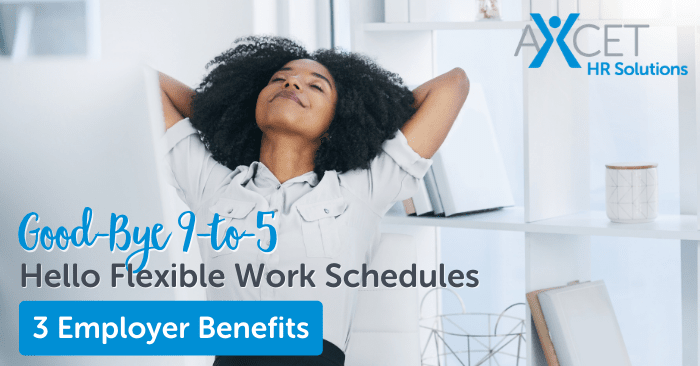 flexible work schedules improve employee productivity