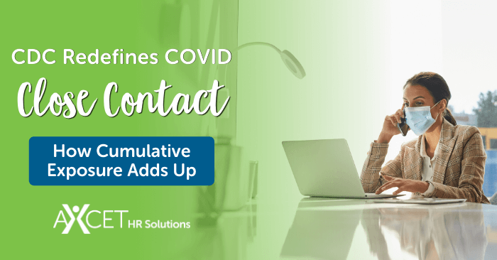 CDC redefines COVID close contact