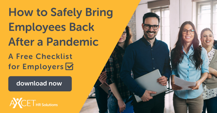 how to safely bring employees back after a pandemic