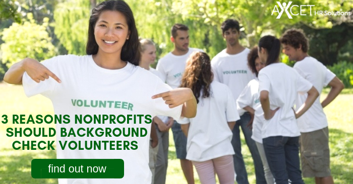 3 Reasons Nonprofits Should Background Check Volunteers