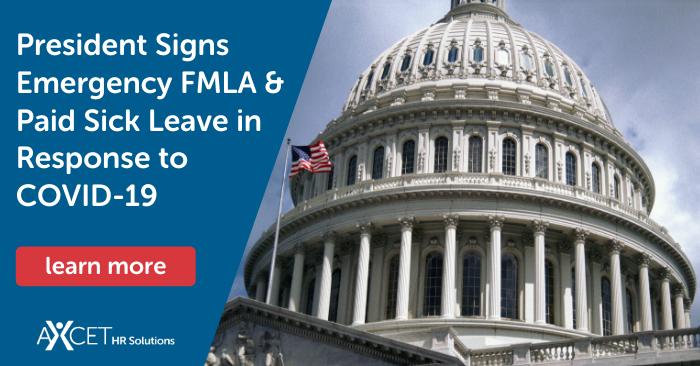 president signs emergency FMLA and paid sick leave in response to covid-19