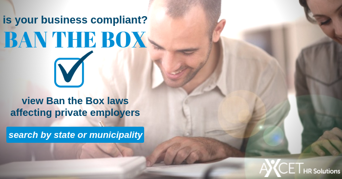 Ban the Box - search by state or municipality