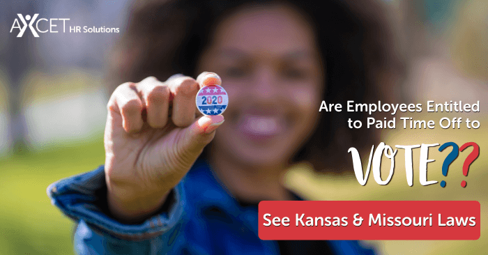 are employees in kansas and missouri entitled to paid time off to vote
