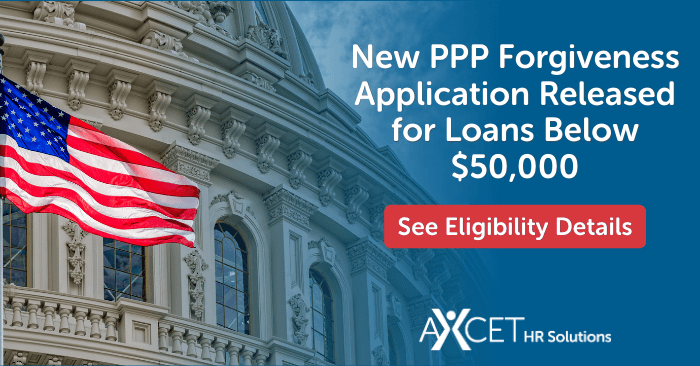 simplified PPP forgiveness application for loans under $50,000