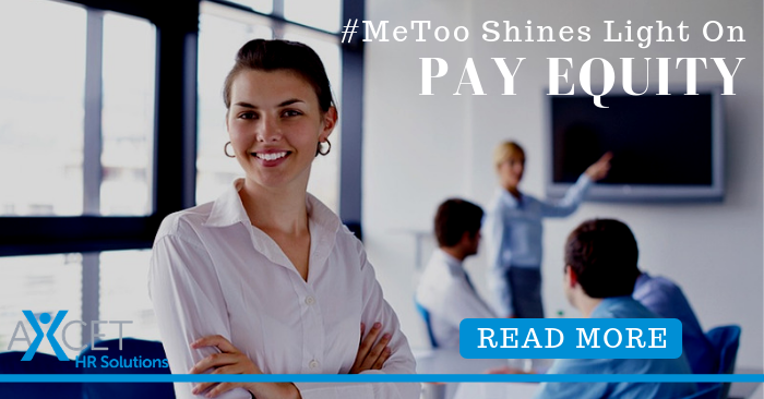 MeToo Shines Light On Pay Equity
