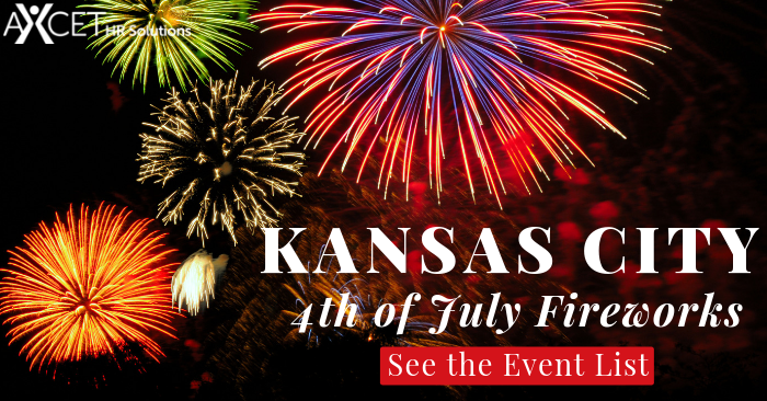 A full list of Fourth of July fireworks displays across the Kansas City Metropolitan Area.