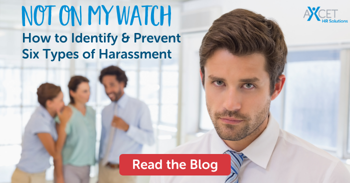 how to identify and prevent six types of harassment in the workplace
