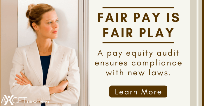 Fair Pay is Fair Play - how a pay equity audit ensures compliance with new laws