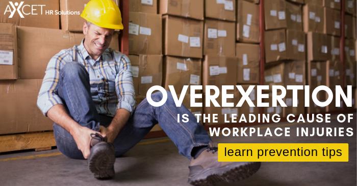 Avoiding Overexertion Injuries at Work