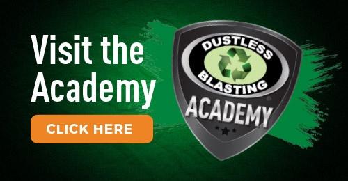 visit dustless blasting academy