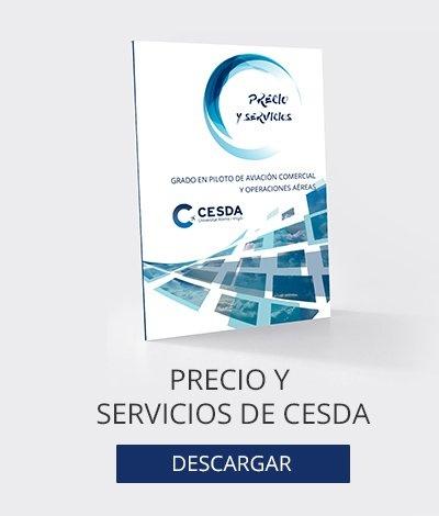 Descárgate los servicios y precios de CESDA
