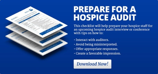 Prepare for a Hospice Audit