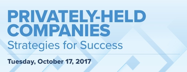 privately-held companies: strategies for success