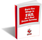 Sure Ways to Fail as a Real Estate Investor ebook