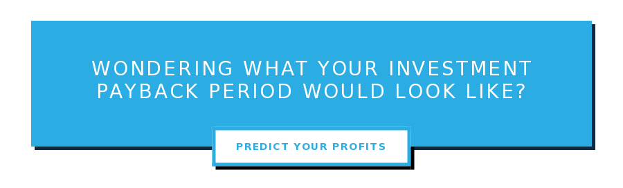 Wondering What Your Investment Payback Period Would Look Like? Predict Your Profits